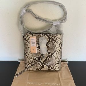 Rebecca Minkoff Megan Small Feed Bag Snake BNWT